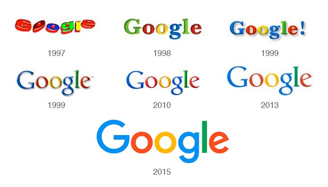 Why change the company logos over time