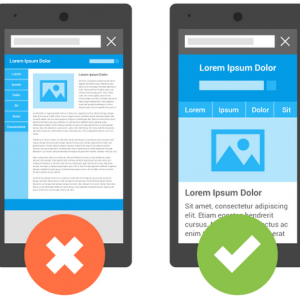 Consumers demand web pages optimized for mobile