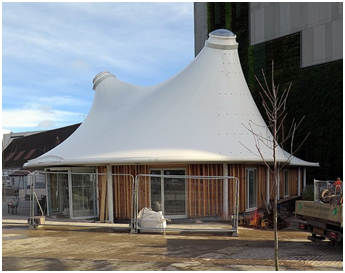 The Three Main Designs of Fabric Tensile Structures