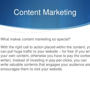 What makes content marketing so important