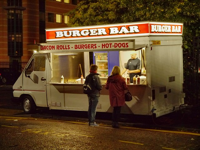 Brothers Convert VW Camper into Burger Van