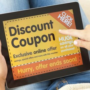 Digital discount coupons, a revolution for online shopping and e-commerce