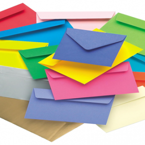 The benefits of using coloured envelopes